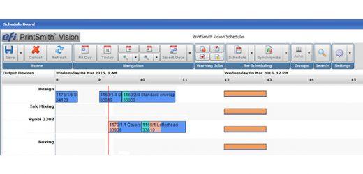 EFI представи своята нова версия на PrintSmith Vision