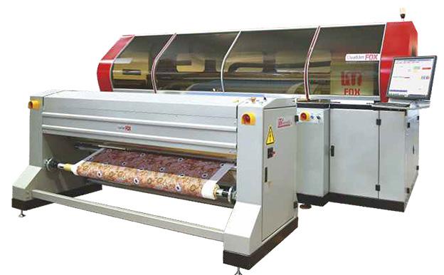 Текстилен принтер с Know How от LaMeccanica и inkjet технология Kyocera