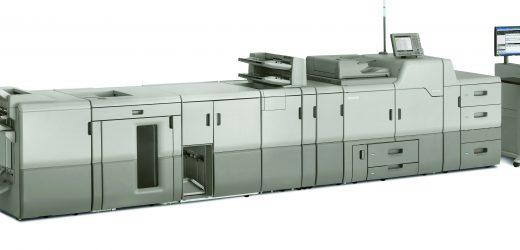 Нова петцветна производствена печатна машина RICOH