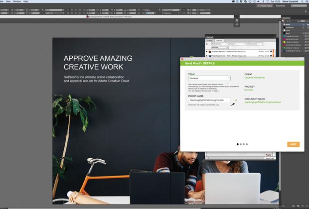 Безплатна алтернатива за одобрение на файлове - GoProof за InDesign