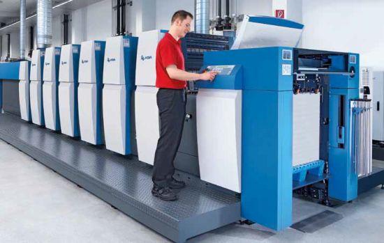 Нова офсетова печатна машина, инсталирана в производствената база на IMPRESS в Пловдив