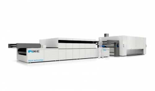 Нова високоскоростна машина за печат върху текстил бе представена от SPG Prints