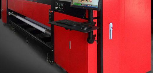 Ти-Рексът сред принтерите за печат върху текстил