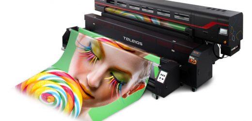 Принтер за директен печат върху текстил TELEIOS GRANDE / H6 инсталиран в Текс системс