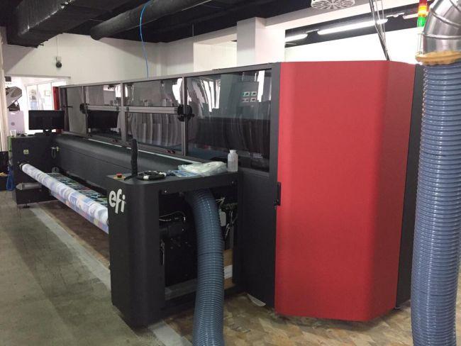 Тотем Груп инсталира първия в България текстилен принтер EFI FabriVU 340i