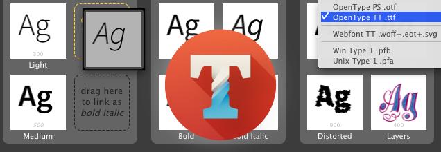 TransType 4 — конвертира и поправя шрифтове