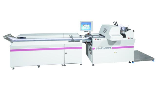 Високопроизводителна машина за печат върху пликове бе представена от W+D