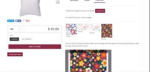 Автоматизирана продажба за печат върху текстил с web2fabric