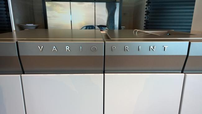 """Canon с """"Титанична"""" премиера на Océ Vario Print 6000 TITAN"""