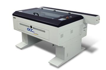 Лазерен гравир LaserPro X380 II в производствен цикъл за бродерии