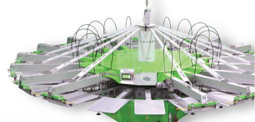 Най-нов модел карусел за ситопечат в Пловдив