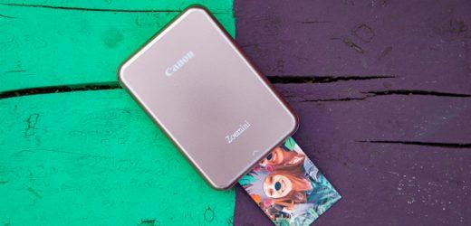 Canon пуска миниатюрен и ултра лек фото принтер