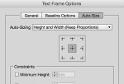 Автоматично оразмеряване на текстовите карета в InDesign