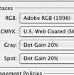 Какви синхронизиращи цветови настройки е удачно да се ползват Adobe Bridge, за възможно най-вярно цветовъзпроизвеждане при печат?