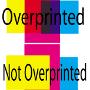 Какво е overprint и кога е нужно да го задам?
