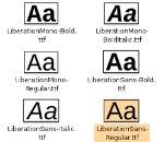 Работа с шрифтове под Mac OS X, версии 10.2.x и по–нови
