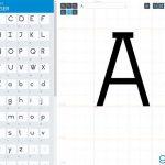 Безплатен онлайн дизайн на шрифтове с Glypr