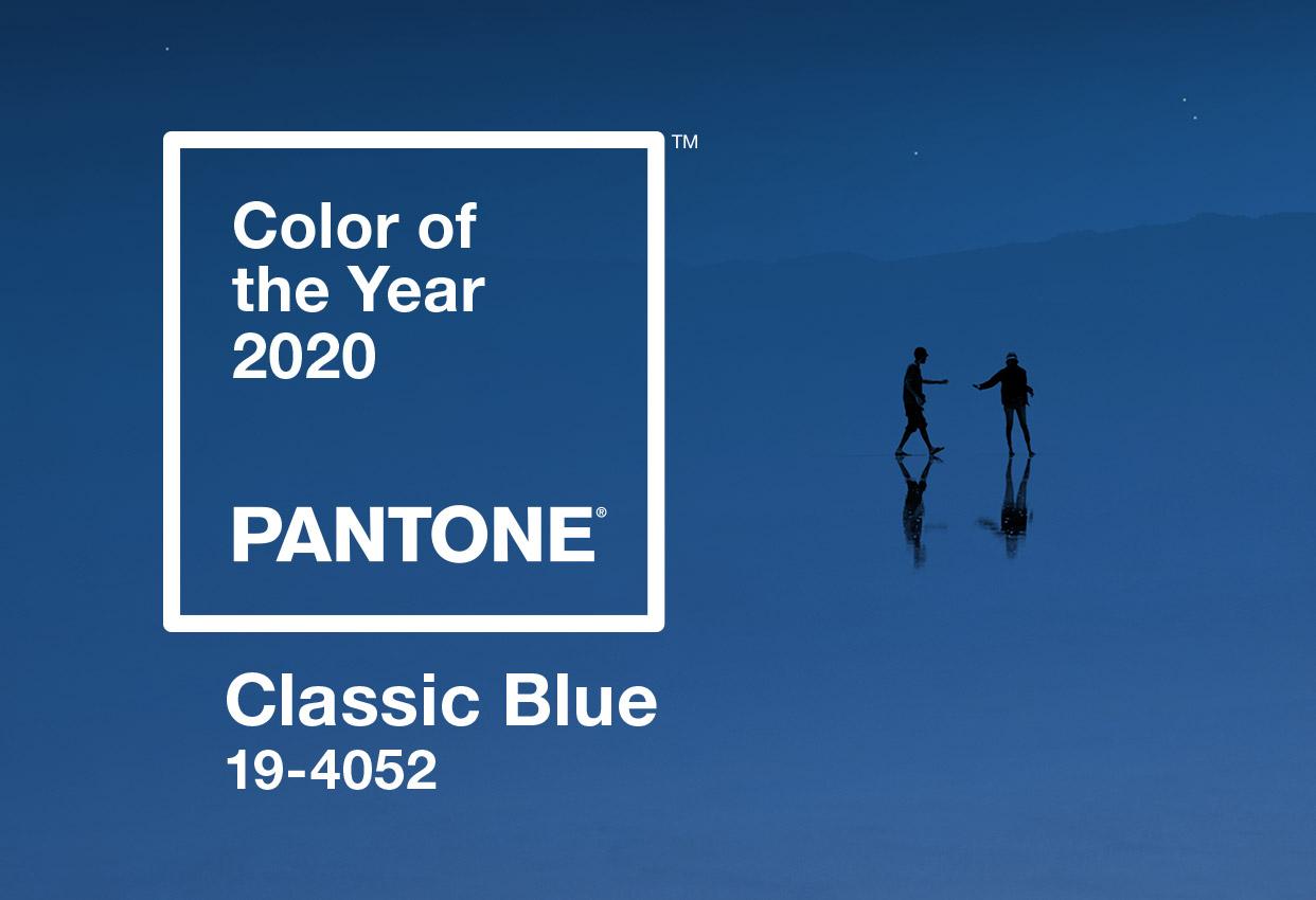 Pantone цветът на 2020 година е 19-4052 Classic Blue