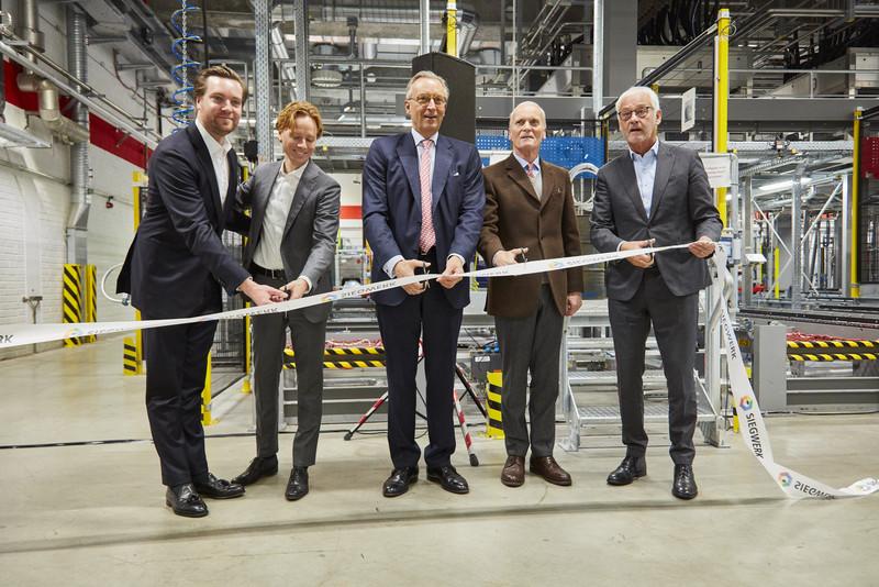 Siegwerk стартира най-големият завод за автоматизирано производство на мастила в Европа