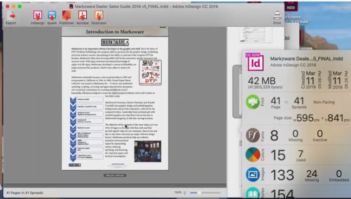 Световен дебют за IDMarkz за Adobe InDesign
