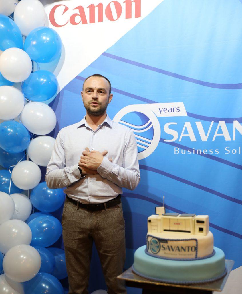 Иван Шарков от Саванто