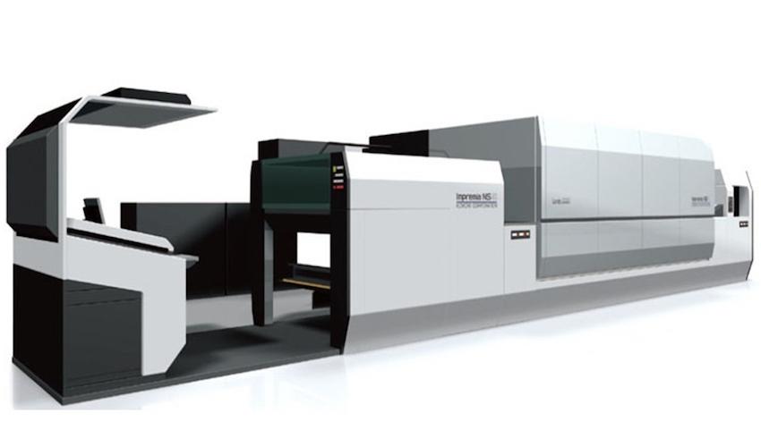 Първи тестове в производствена среда за нанографската Komori Impremia NS40
