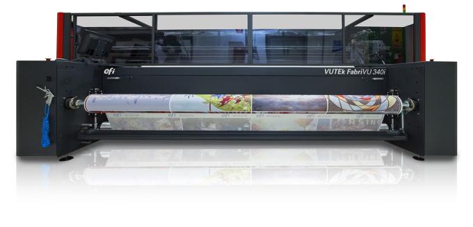 Бързина и качество при директния печат върху текстил с новата FABRIVU 340I в J-Point