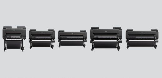Canon пуска на пазара новата серия принтери на водна база – imagePROGRAF PRO