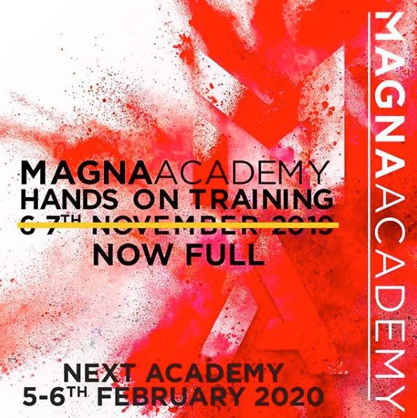 Предстоящо обучение на Академията на Magna Colours