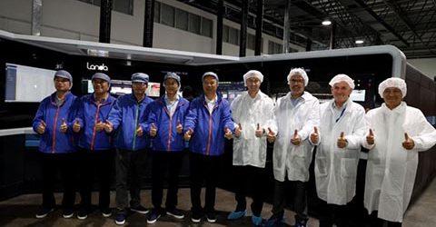 Първа Landa S10 в Китай