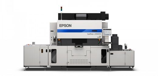 Нова високоскоростна UV дигитална машина за етикети от Epson