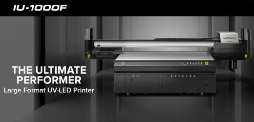 Фирма ProSign предлага Roland IU-1000F UV LED Printer