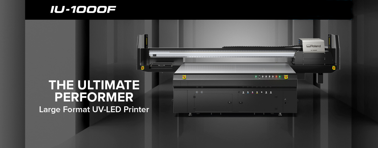 Фирма ProSign предлага Roland IU-1000F UV LED Printer