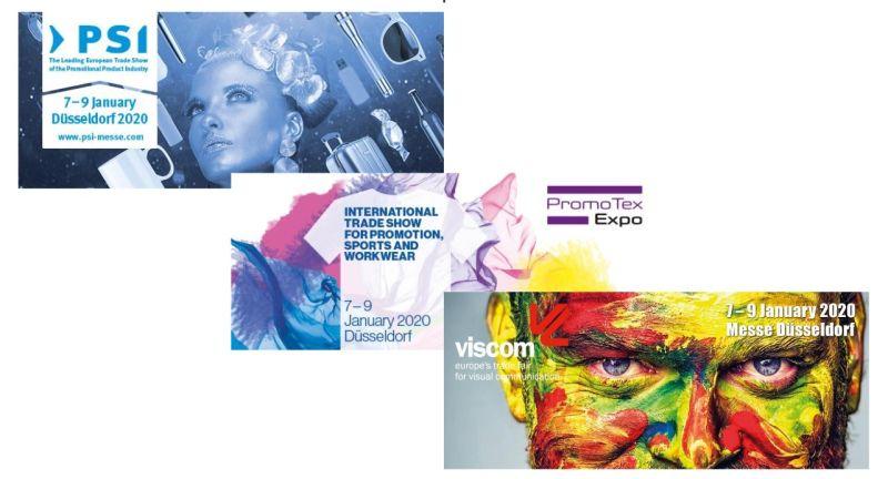 PSI 2020, Viscom 2020, PromoTexExpo 2020