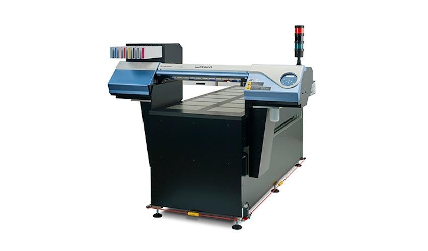 Roland VS-300iS-GO – бързо, точно и безвредно индустриално решение за печат върху широка гама продукти