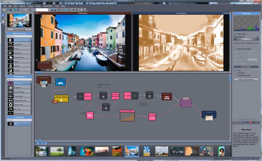 Създай собствени ефекти за изображения с могъщия Photo Reactor