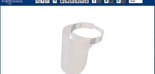 EngView пусна параметрични дизайни на предпазни шлемове за медицински работници