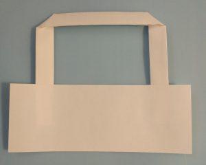 Хартиени дръжки за торби - плоски