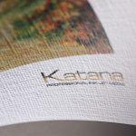 Крафт-селекция фотохартия Katana, със 7 различни релефа