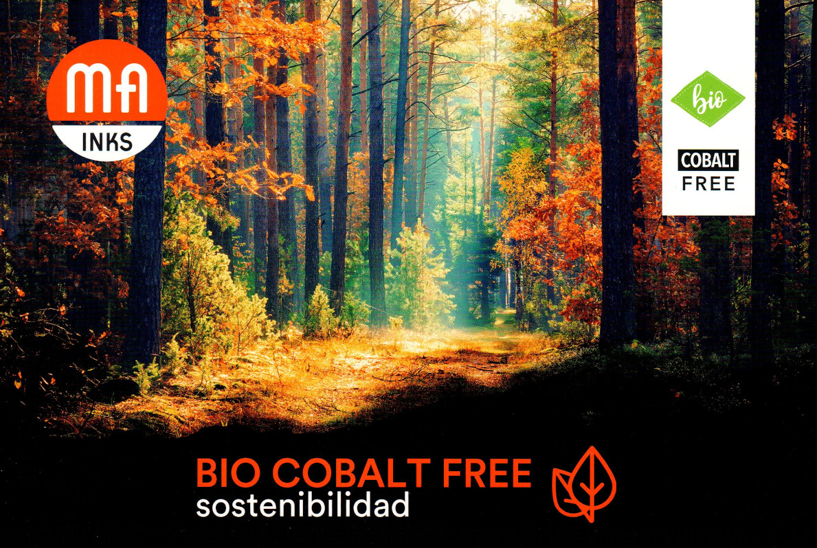 Екологични мастила BIO COBALT FREE