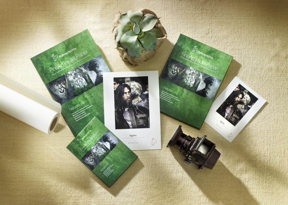 Хартии от агаве, бамбук и коноп от Hahnemuehle