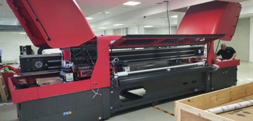 Дисплей БГ избраха най-висок клас индустриален EFI принтер