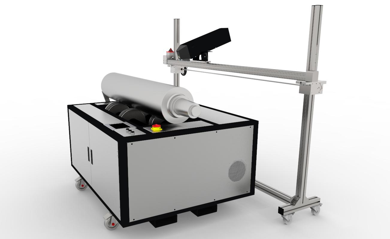 Нова машина за лазерно почистване на анилоксови валове