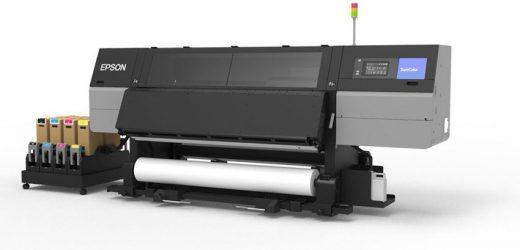 Нов конкурентен сублимационен принтер Epson SC-F10000