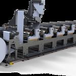 Нова тясноформатна ролна флексопечатна машина на Edale
