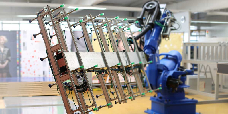 Роботизирана система за подаване на пластини на Agfa