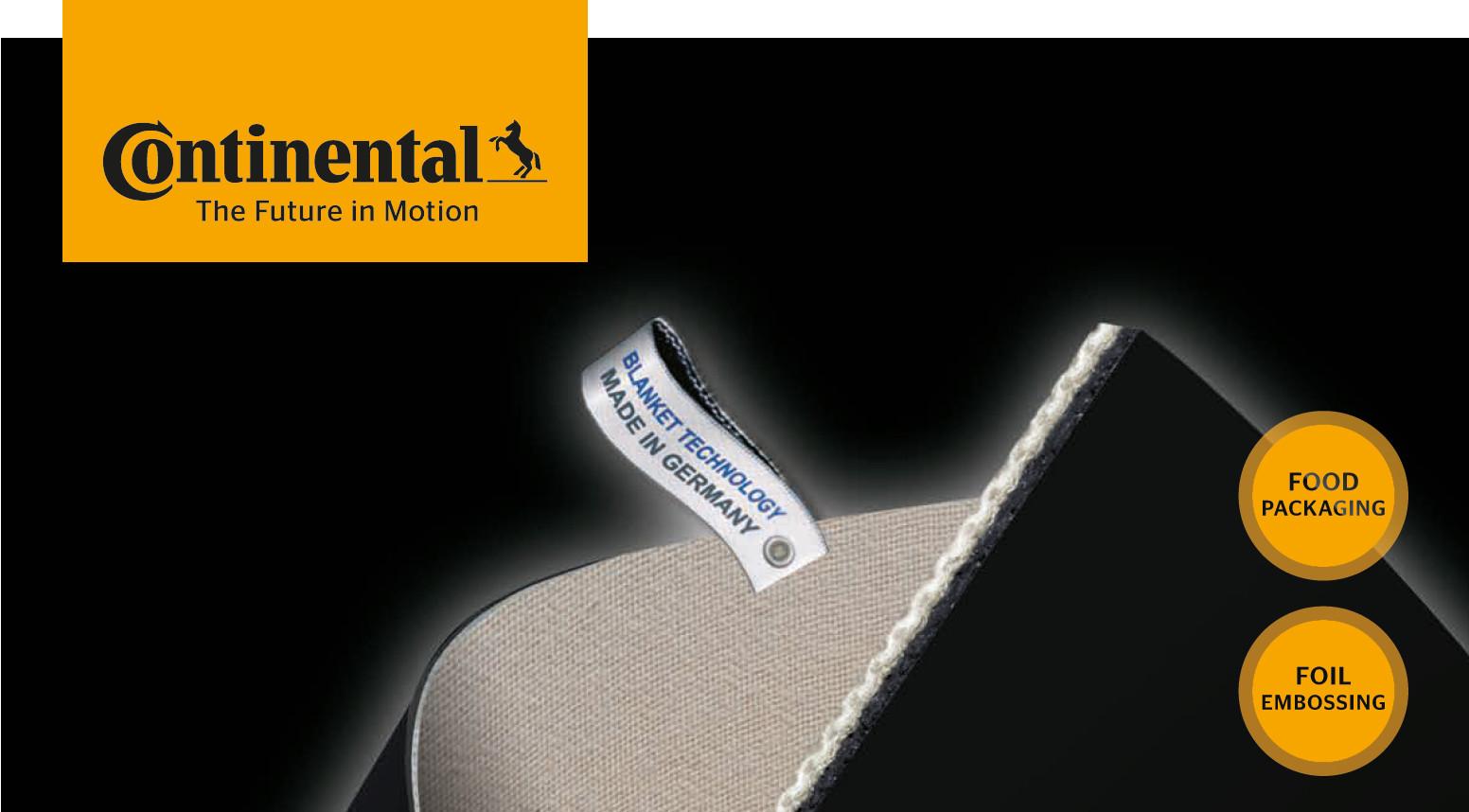 Нова разработка на гумено офсетово платно от Continental