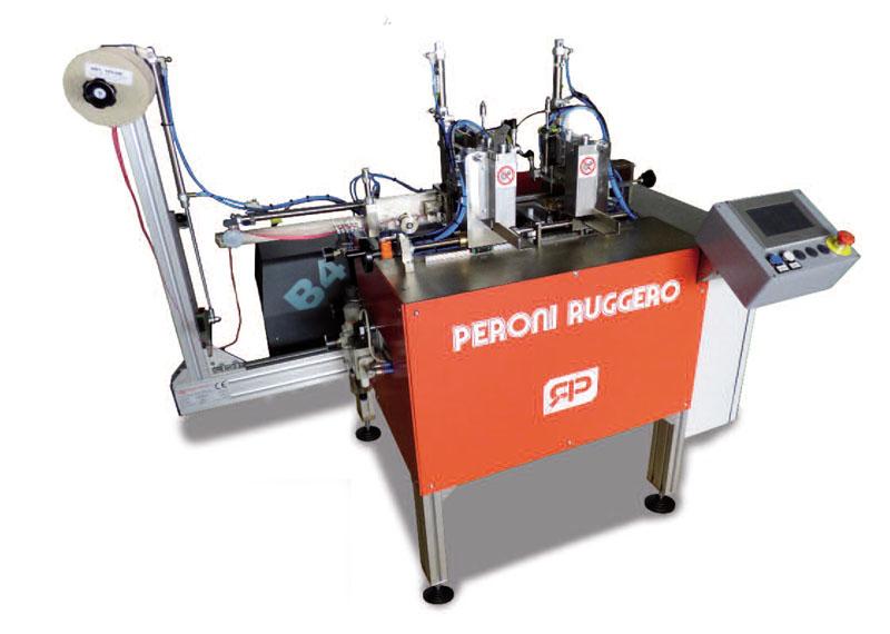 Mашина за поставяне на ластик на твърда корица AGD/EI-M