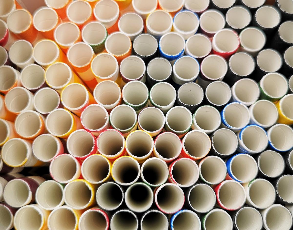 Хартиени сламки произведени в Европа