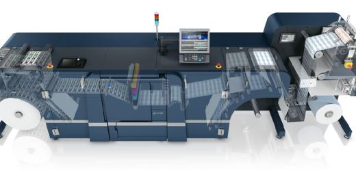 Нова флексопечатна секция към дигиталните машини AccurioLabel